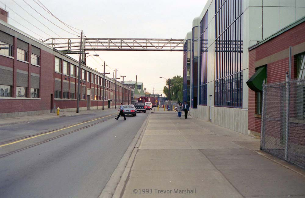 CNR on Ontario Street, 1993