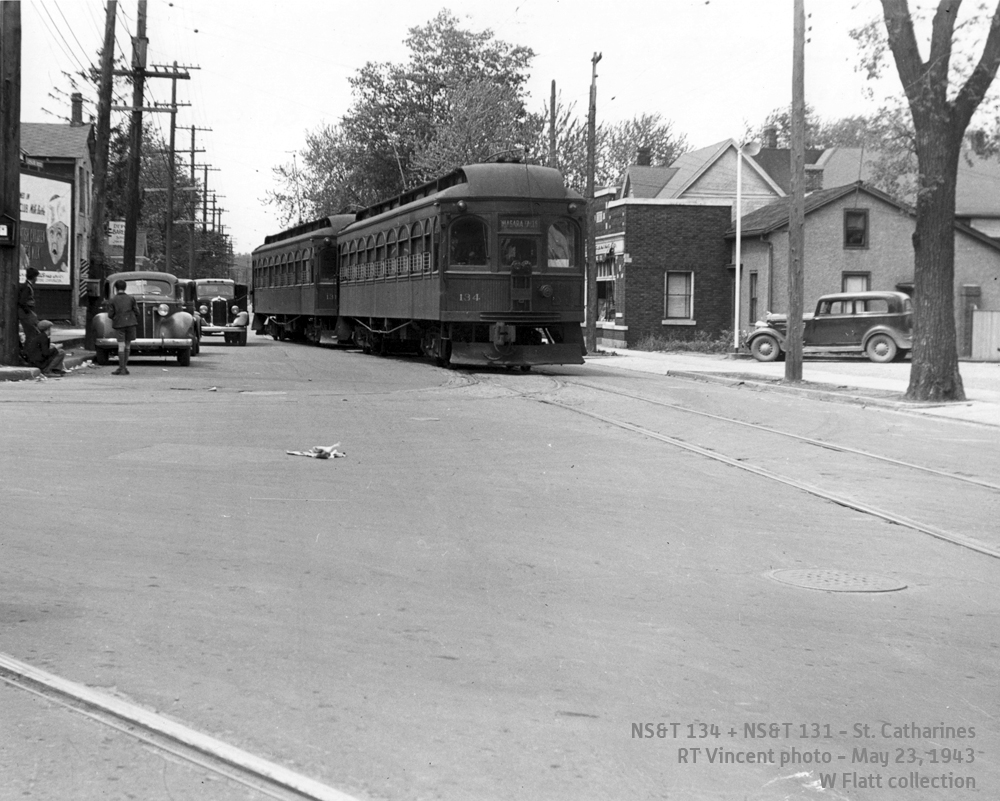 NS&T 134-131- St Catharines May 23, 1943