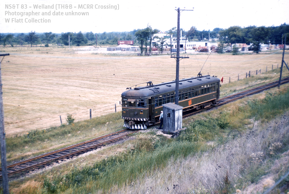 NS&T 83 - Welland (TH&B - MCRR Crossing)
