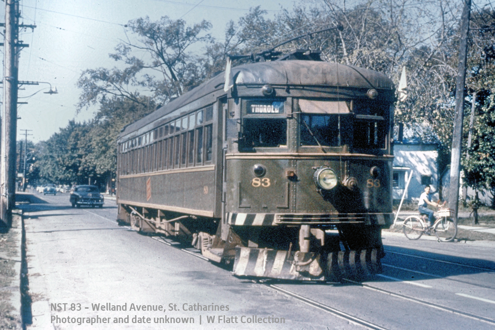 NS&T 83 - Welland Avenue