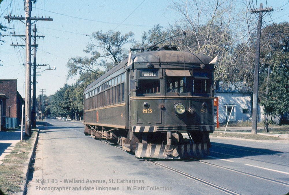 NS&T 83 - Welland Avenue - another view