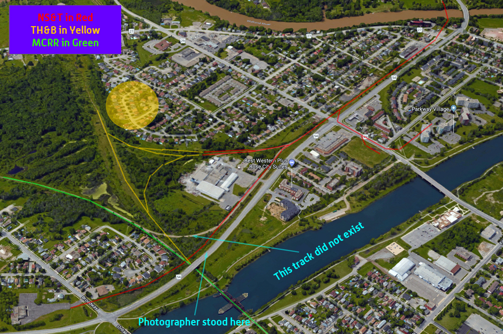 NS&T Welland - Google Earth - Labelled