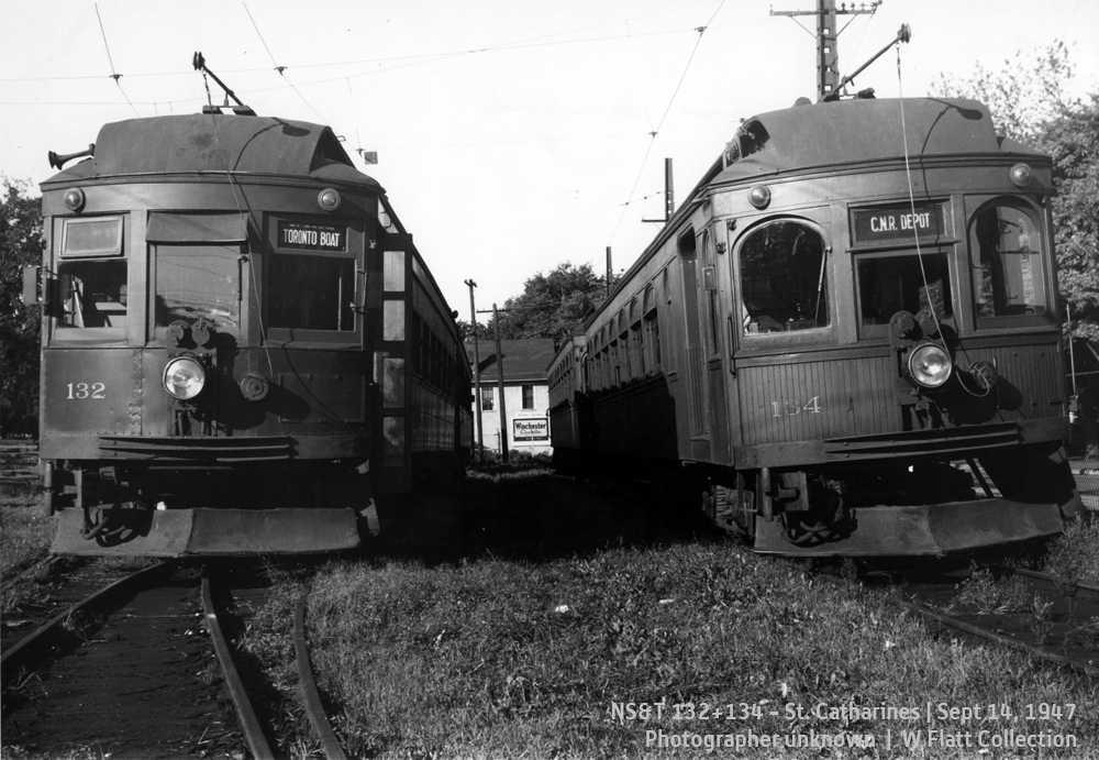 NS&T 132 and 134 - Welland Avenue Car Barns