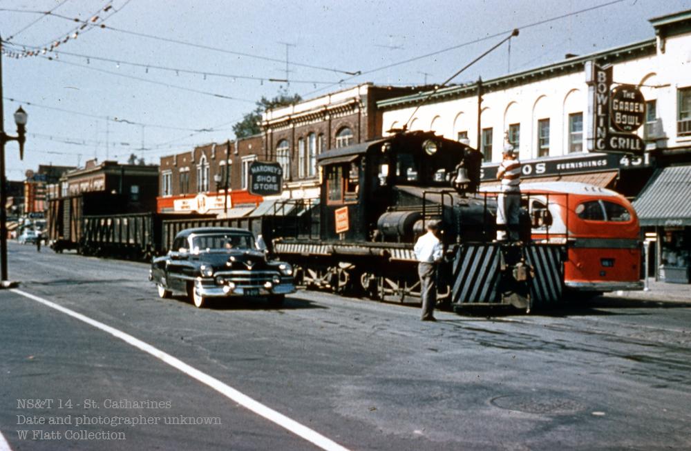 NS&T freight - St. Paul Street
