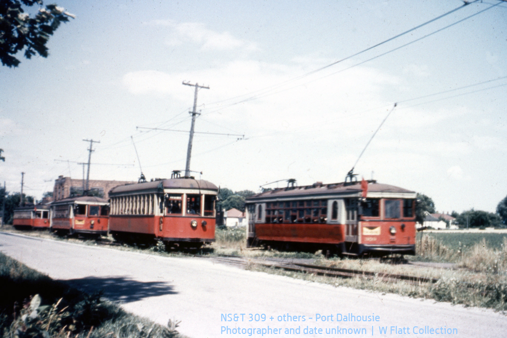 NST309+others - Cannery Siding, Port Dalhousie