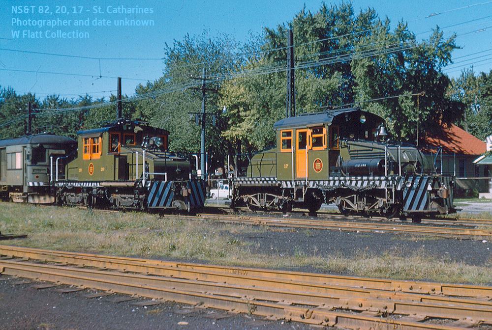 NS&T 82, 20, 17 - Welland Avenue Car Barn