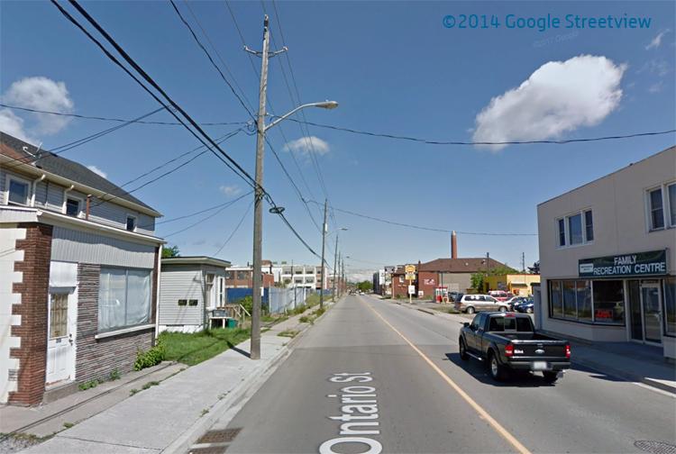 Ontario Street - Google Streetview