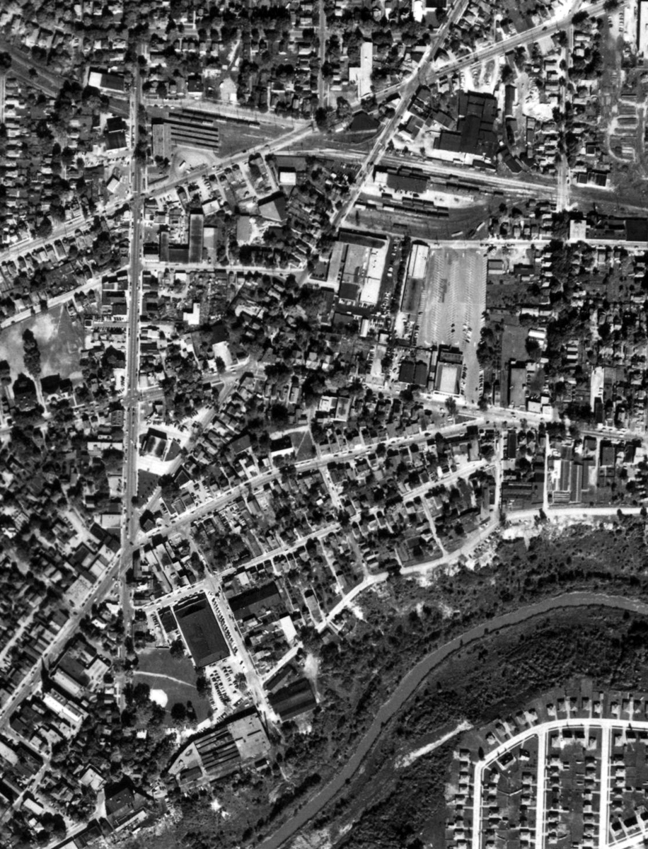 St. Paul and Geneva - Aerial 1955