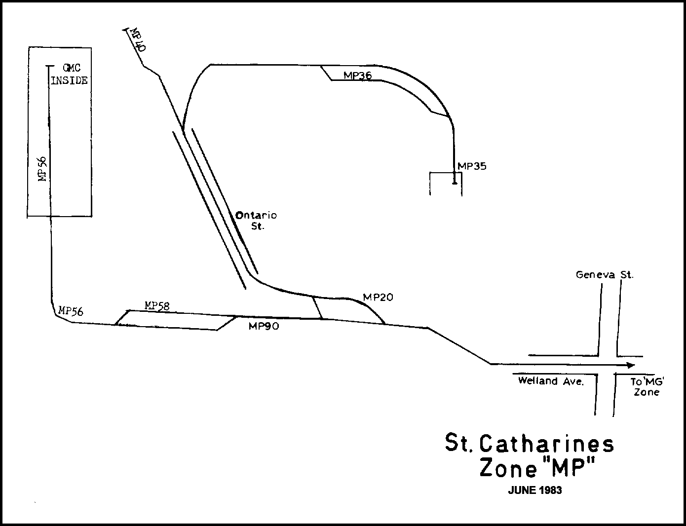 Zone MP - Map
