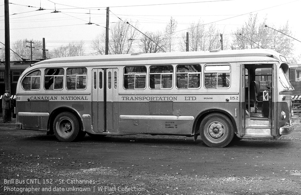 Brill Bus 152 - Welland Avenue car barns