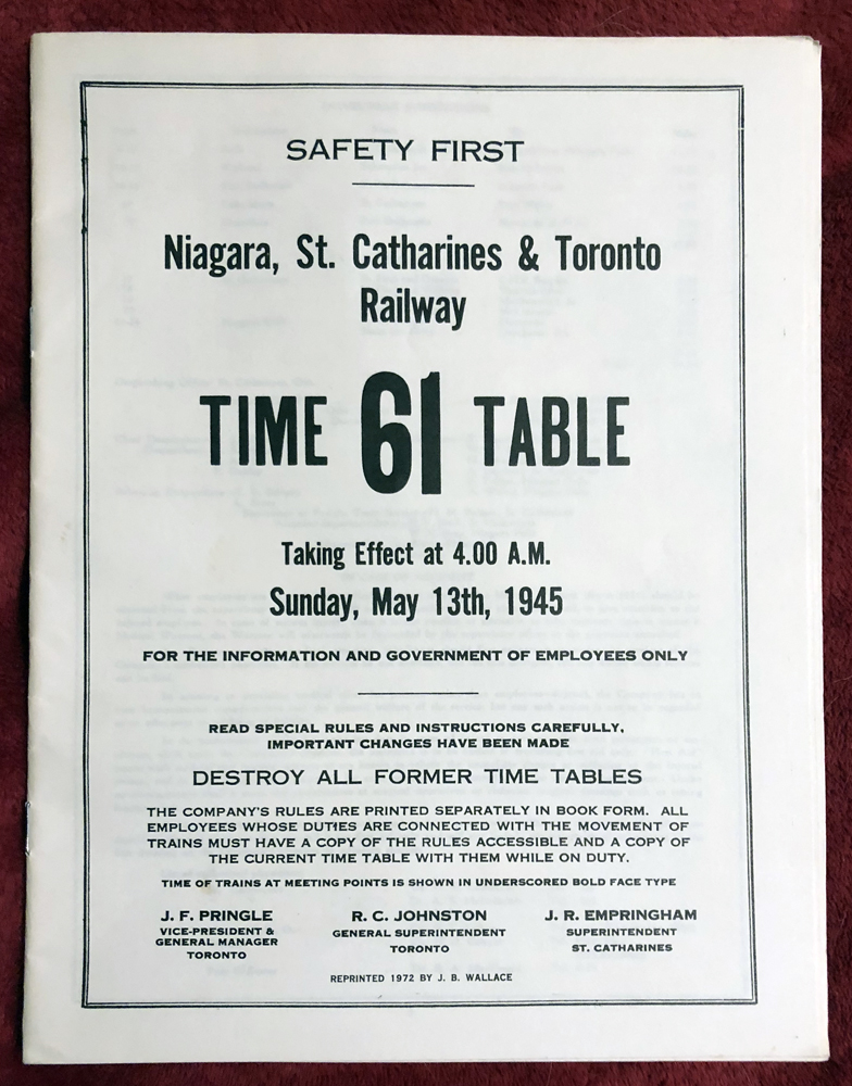 NST Employee Time Table 61