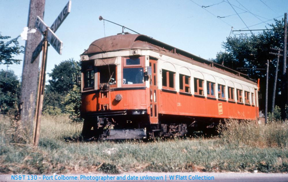 NS&T 130 - Humberstone Siding
