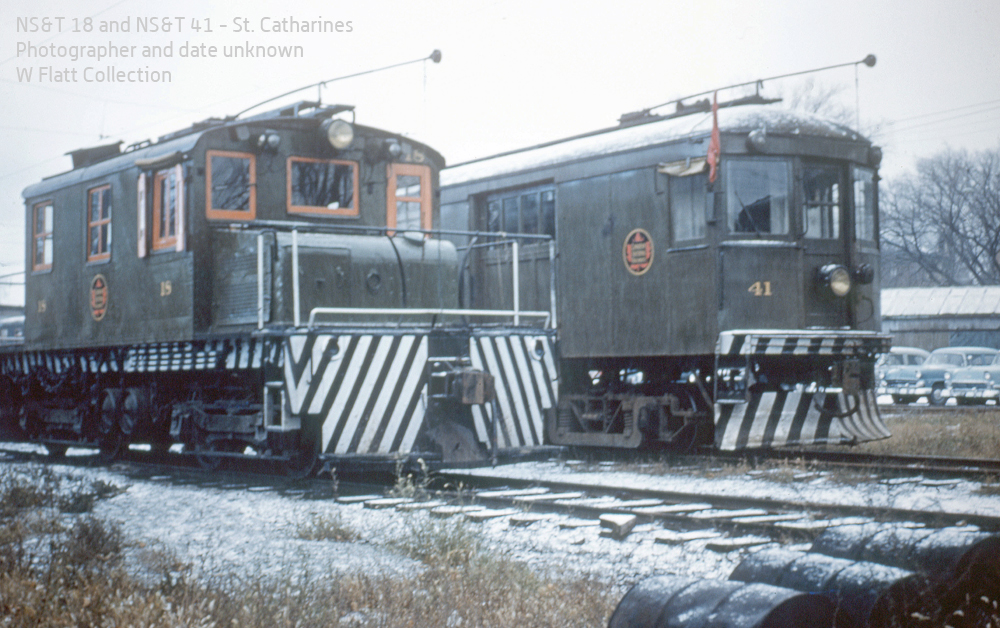 NST 18 and 41 - Welland Avenue Yard