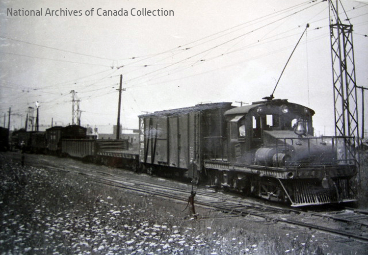 Freight switching - Archives photo.