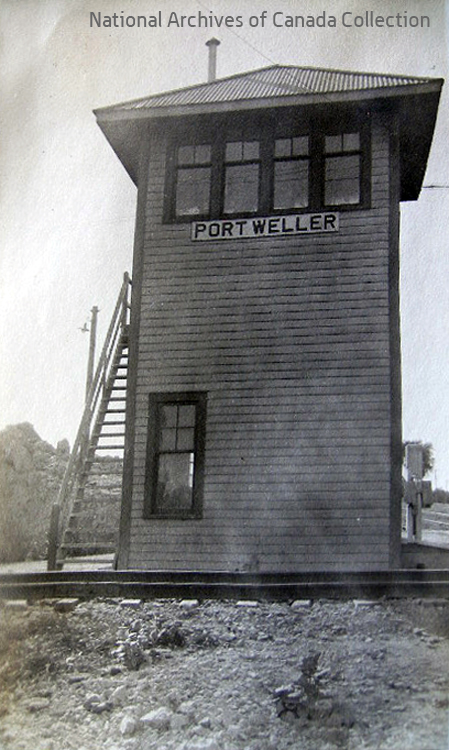Port Weller Tower - Archives photo.