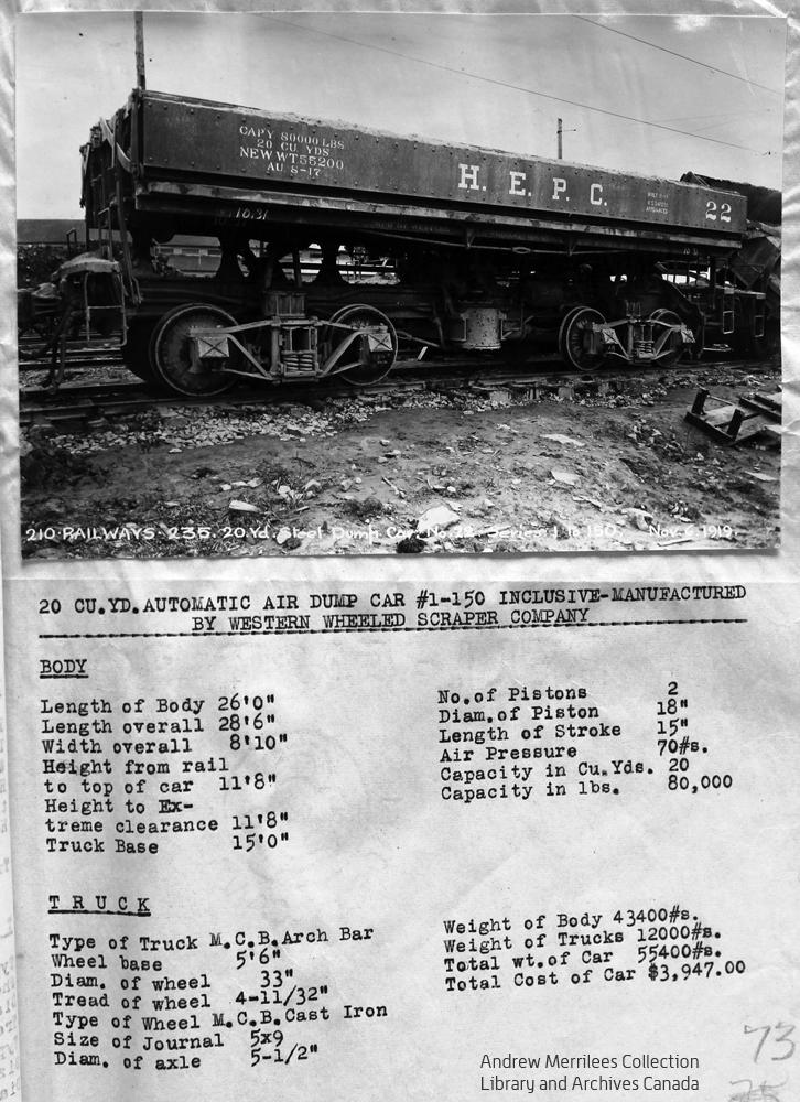 HEPC - Dump Cars 1-150