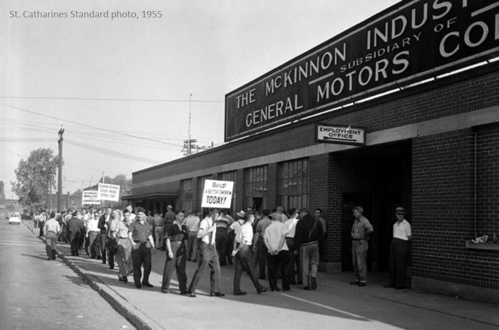 McKinnon - 1955 Strike