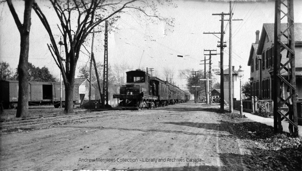 NST Troop Train - Welland Avenue